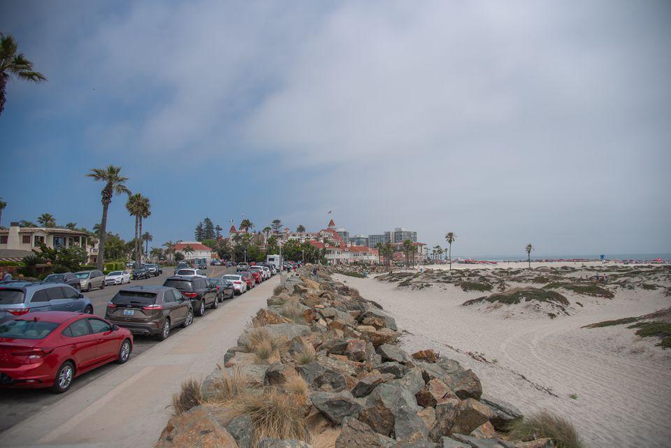 Coronado Beach in San Diego, California