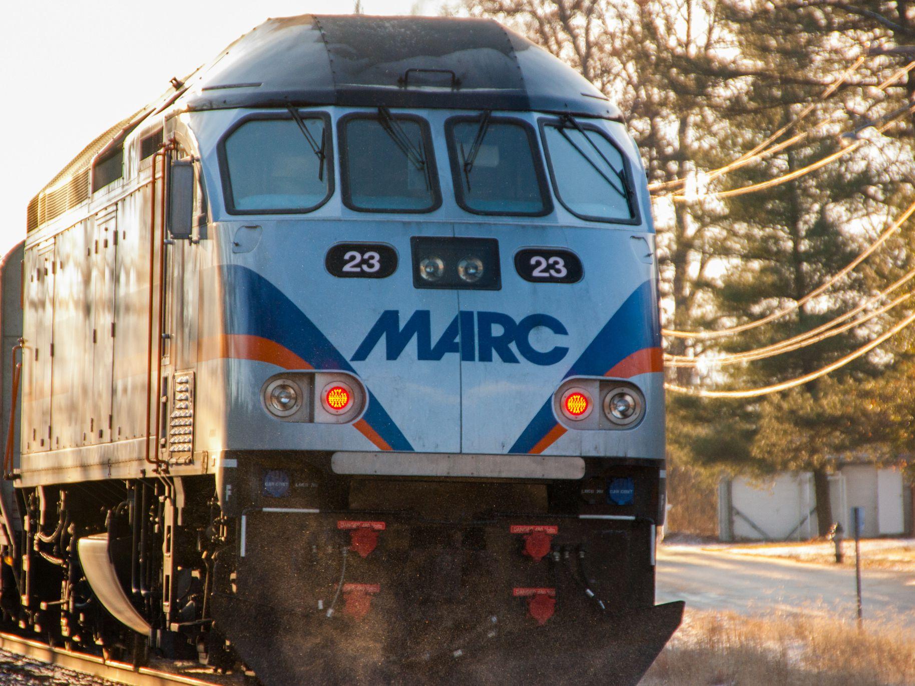 MARC Train: Commuter Rail Line to Washington, D C