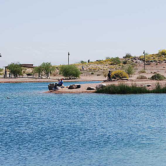 The Lake at Veterans Oasis Park