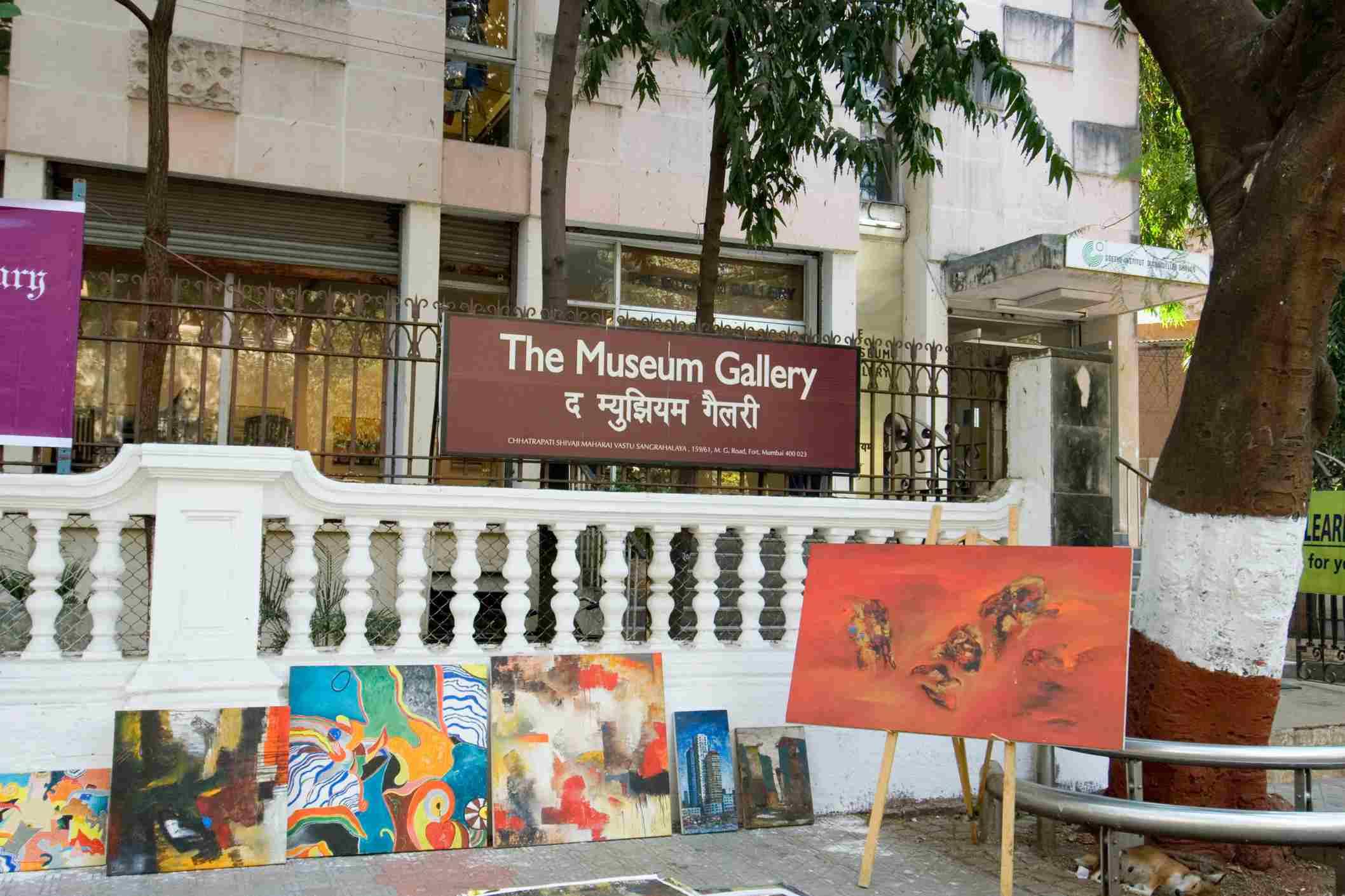 Museum Art Gallery in Kala Ghoda.