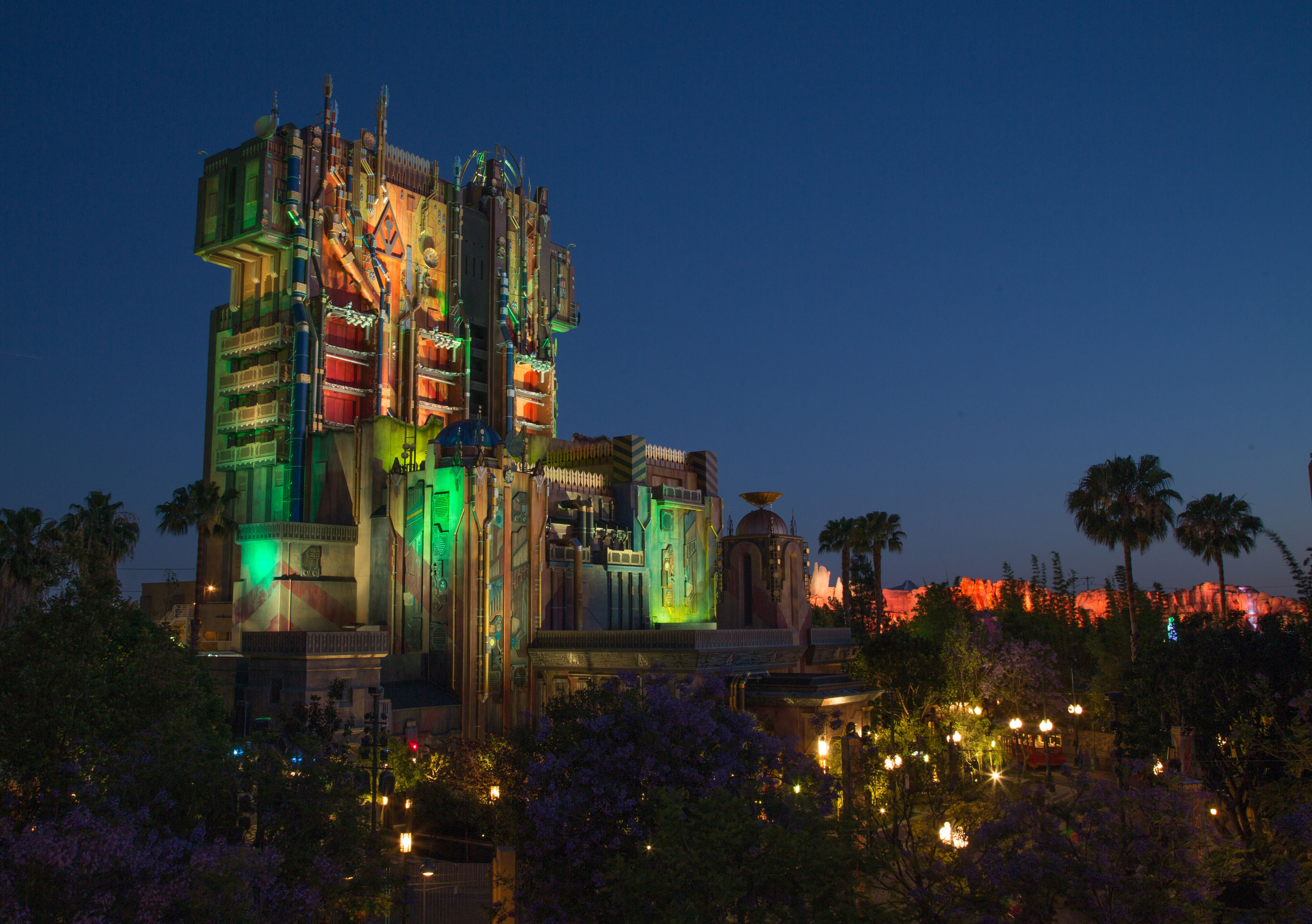 Guardians of the Galaxy – Mission: Breakout ride at Disney California Adventure