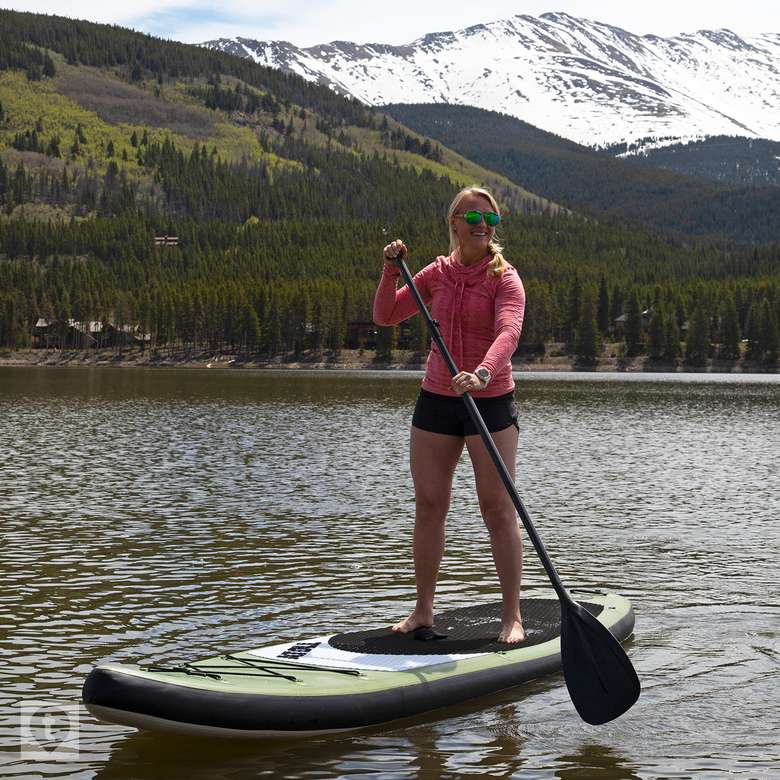 Atoll 11-Foot Inflatable Stand-Up Paddle Board