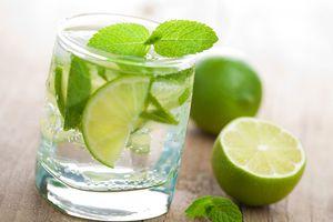 glass of limonada