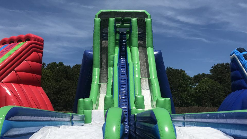 Cape Cod Inflatable Park in West Yarmouth