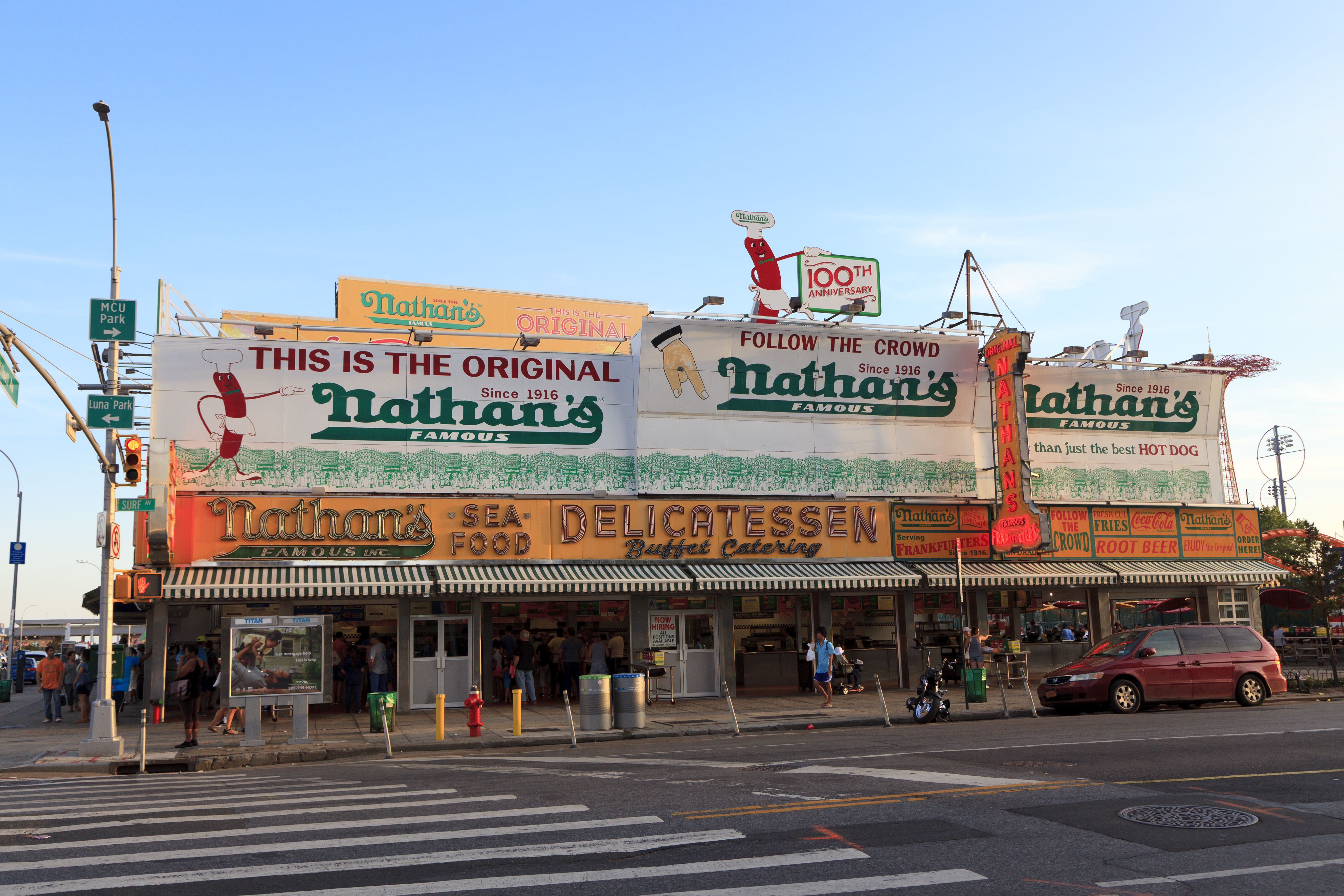 The Nathan's Original Location