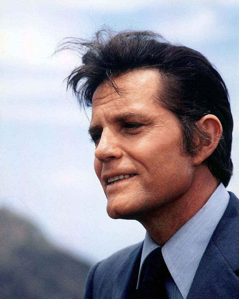Headshot of Jack Lord (1920-1998)