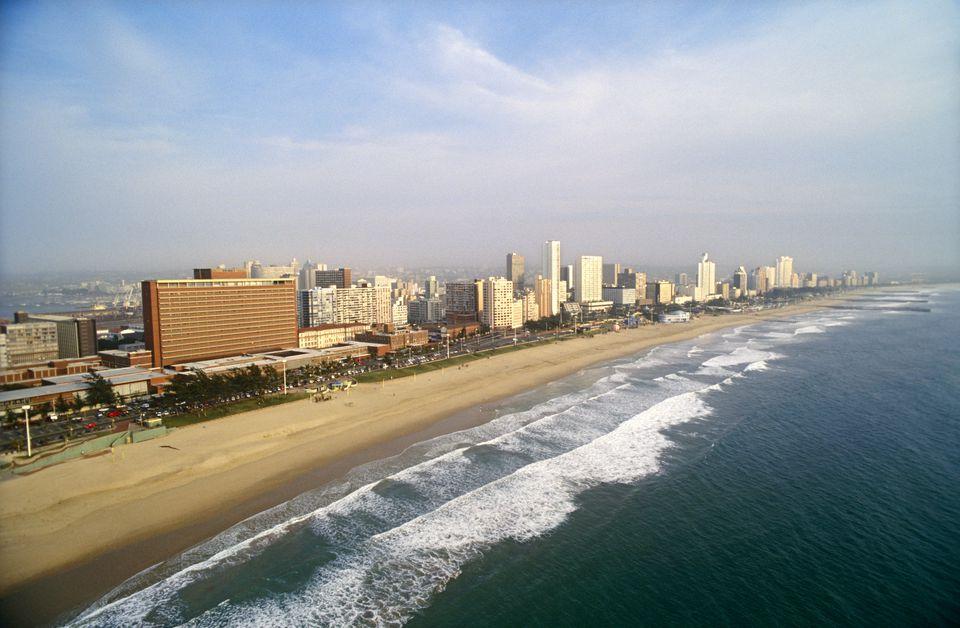 Hoteles carismáticos en la Milla de Oro de Durban