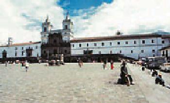 Plaza and Monastery of San Francisco