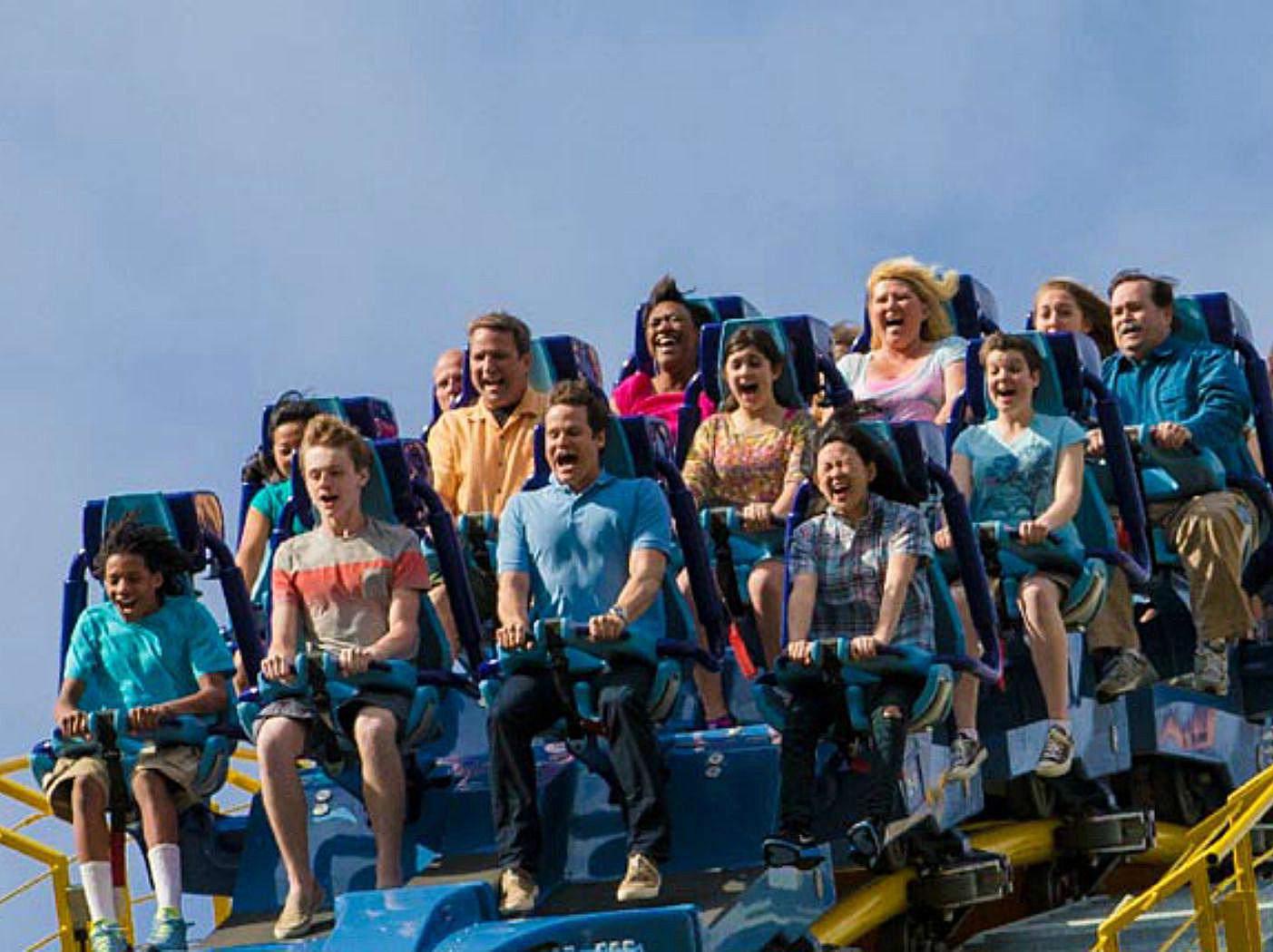 Hershey Park - Skyrush roller coaster