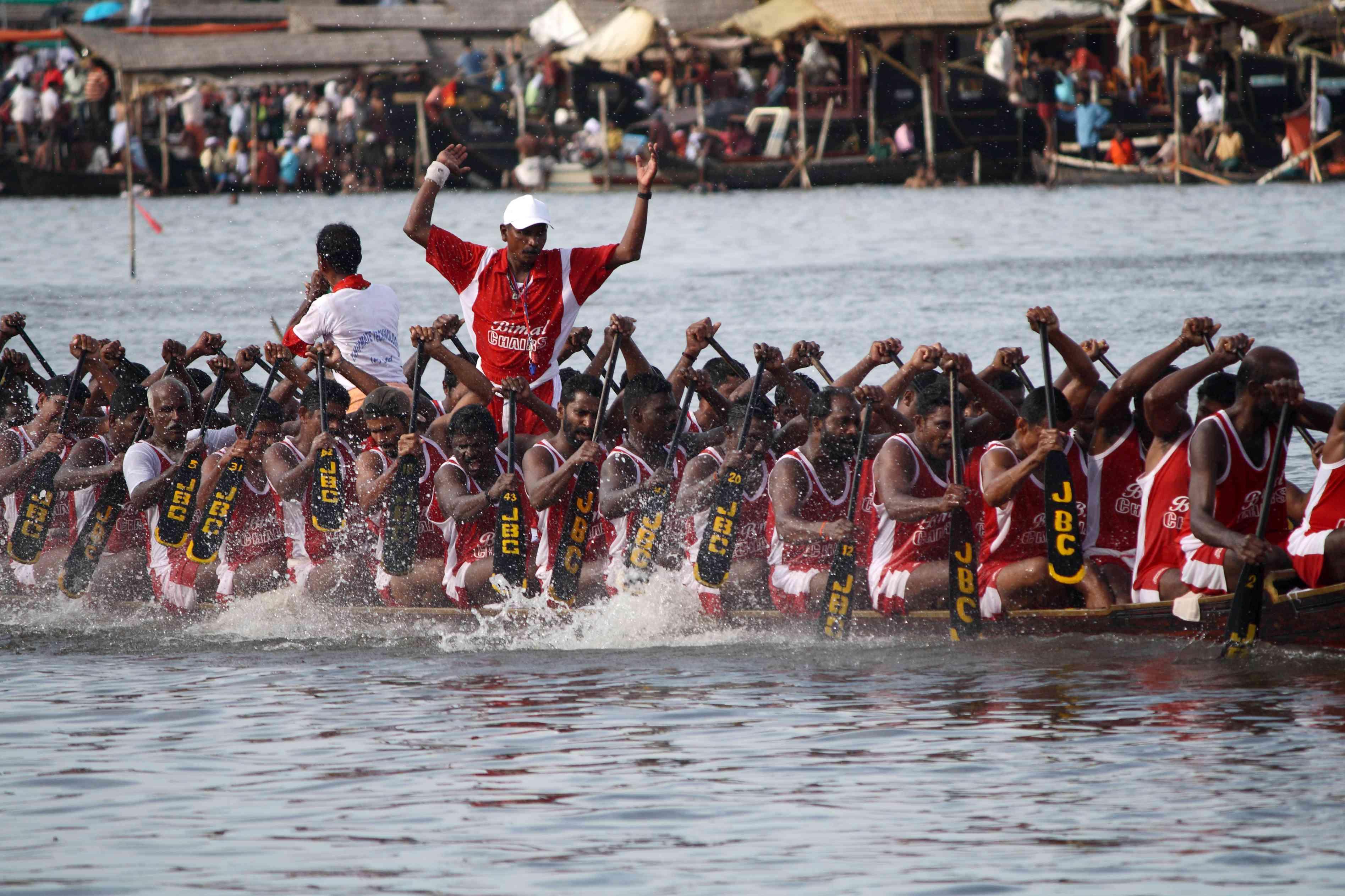 Nehru Trophy boat race, Kerala.