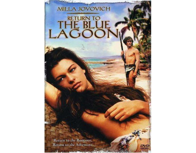 Return to the Blue Lagoon dvd cover