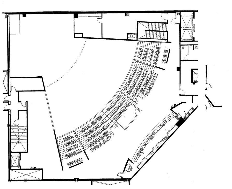 Talking Stick Resort Showroom Seating Chart - Upper Level Seating