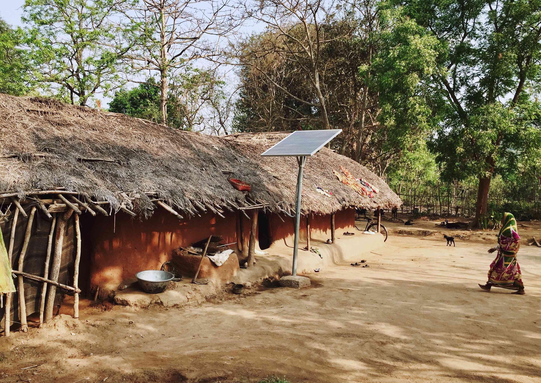Tribal village near Kila Dalijoda, Odisha.