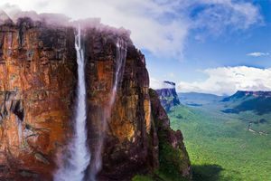 Venezuela's Angel Falls in Canaima National Park