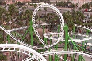 Castles-N-Coasters roller coaster in Arizona