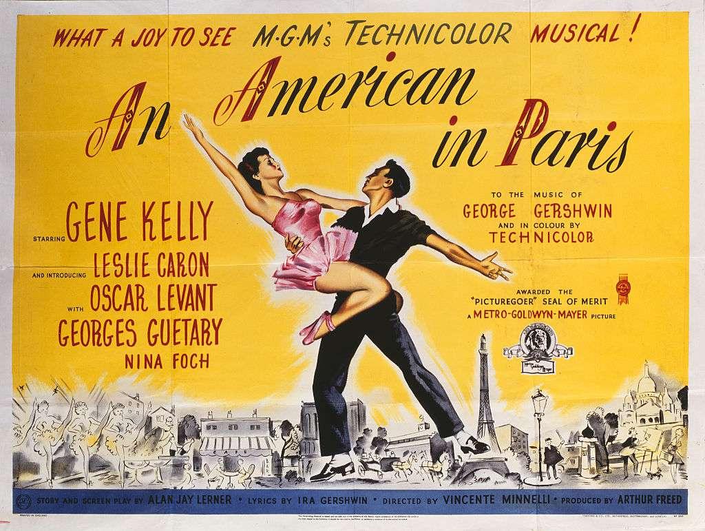 An American in Paris, one of the best films set in Paris, France