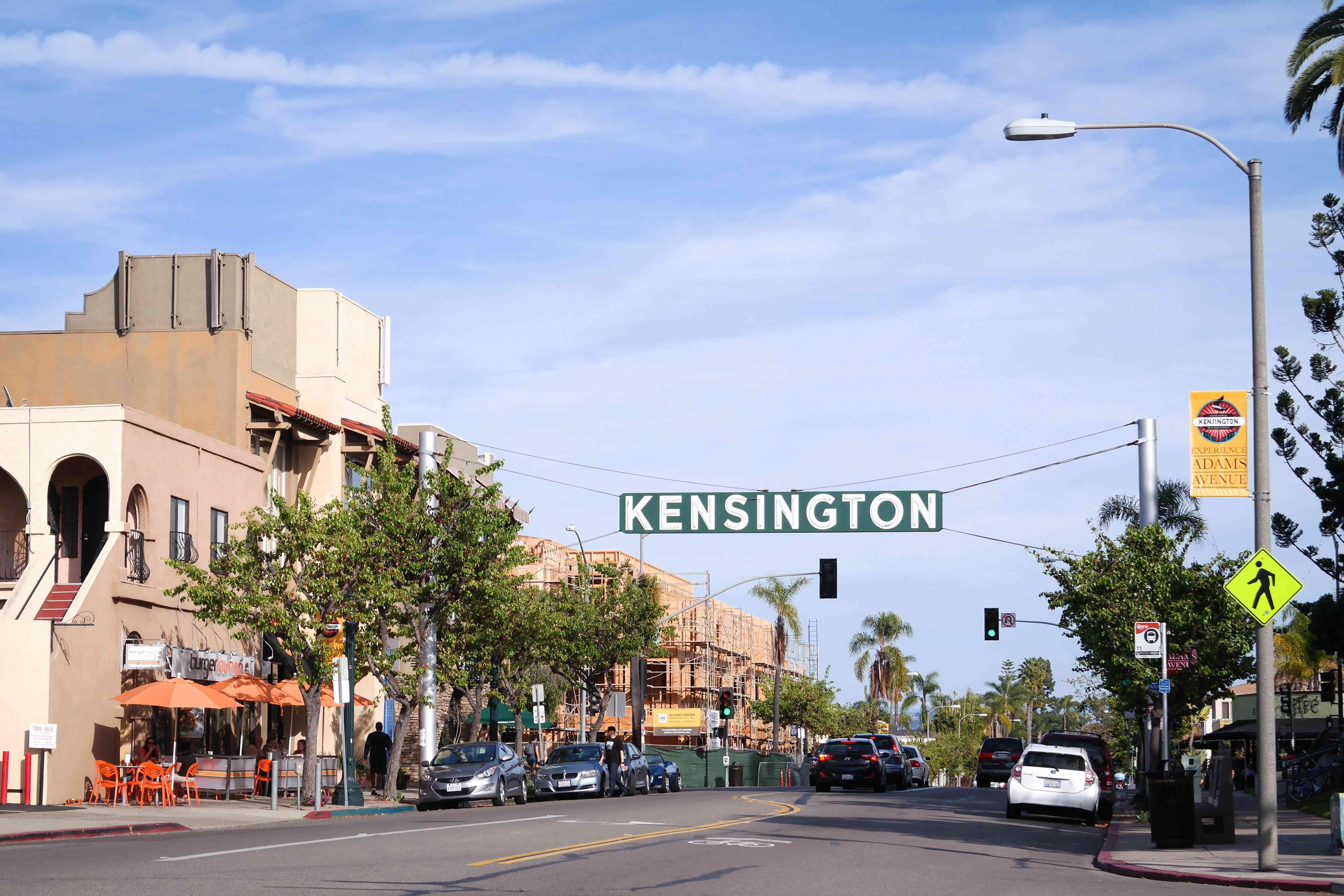 Kensington sign in San Diego