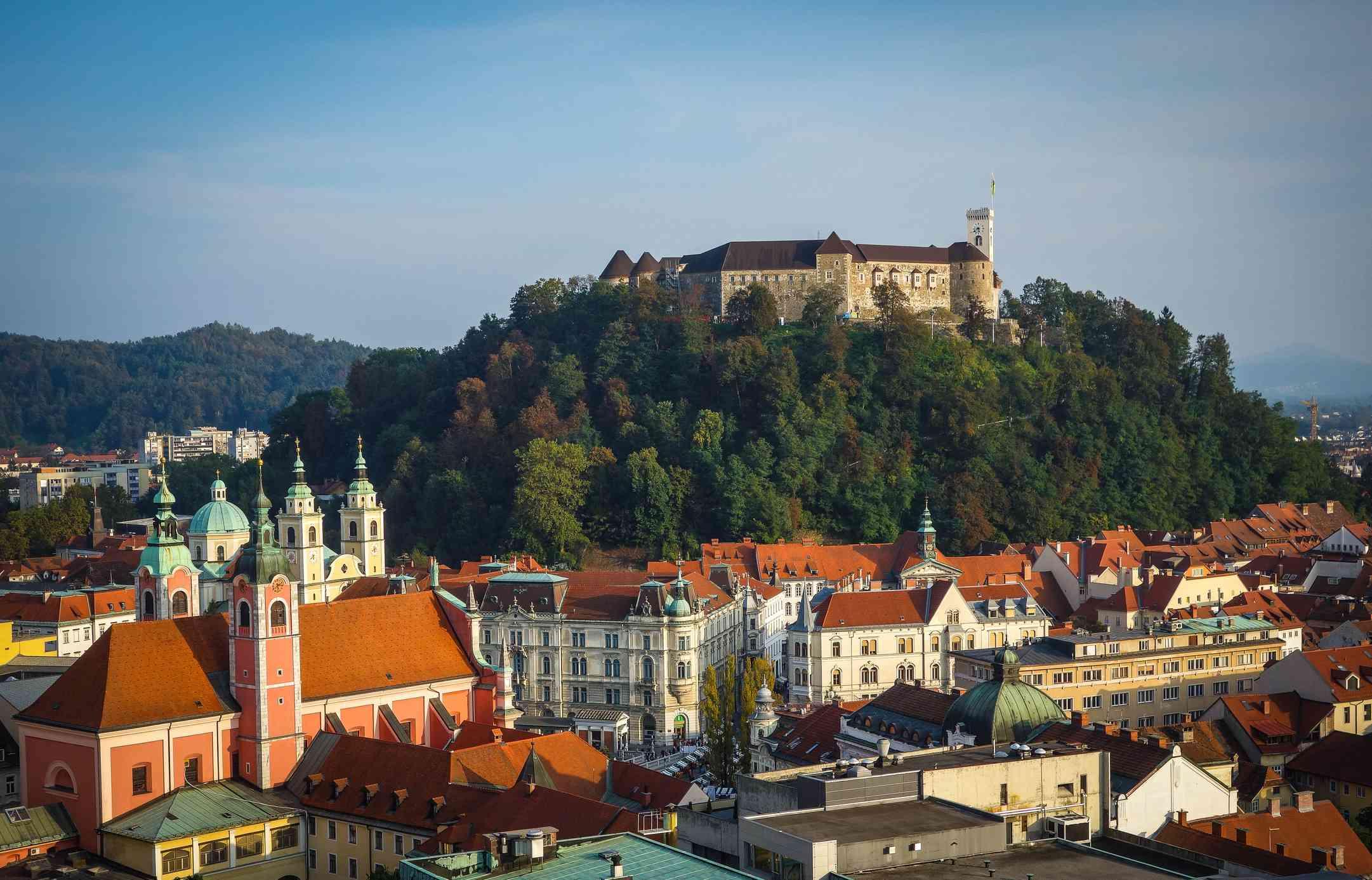Slovenia, Ljubljana, Castle