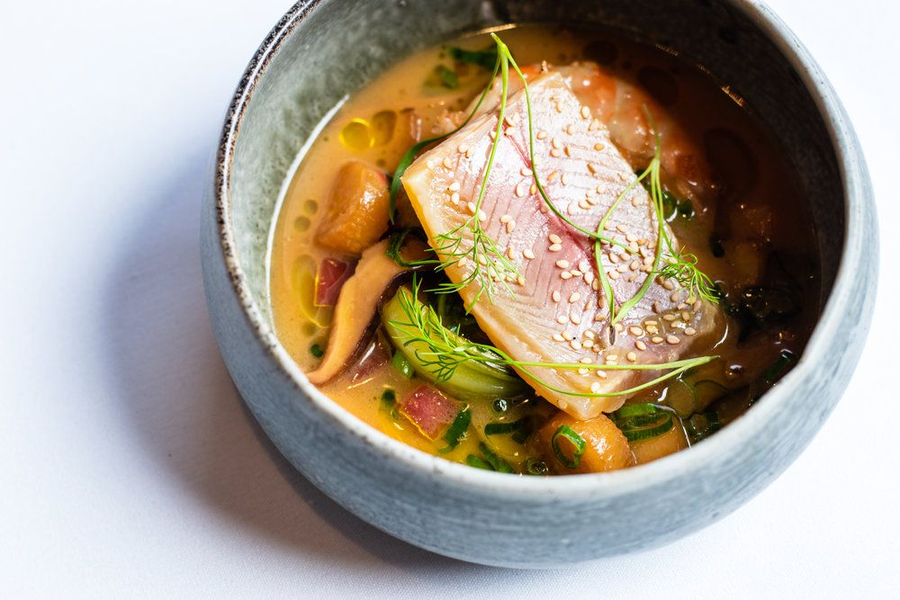 trout at Restaurant Eugene in Atlanta