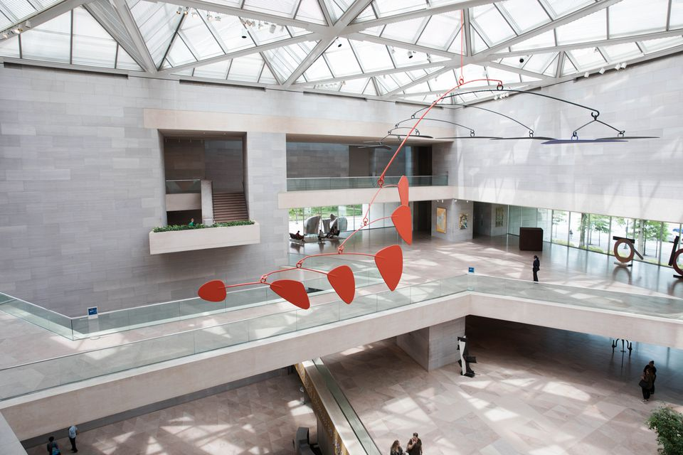 Interior of the National Gallery of Art