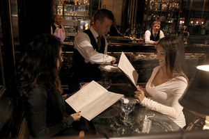 diners at The Wolseley in London