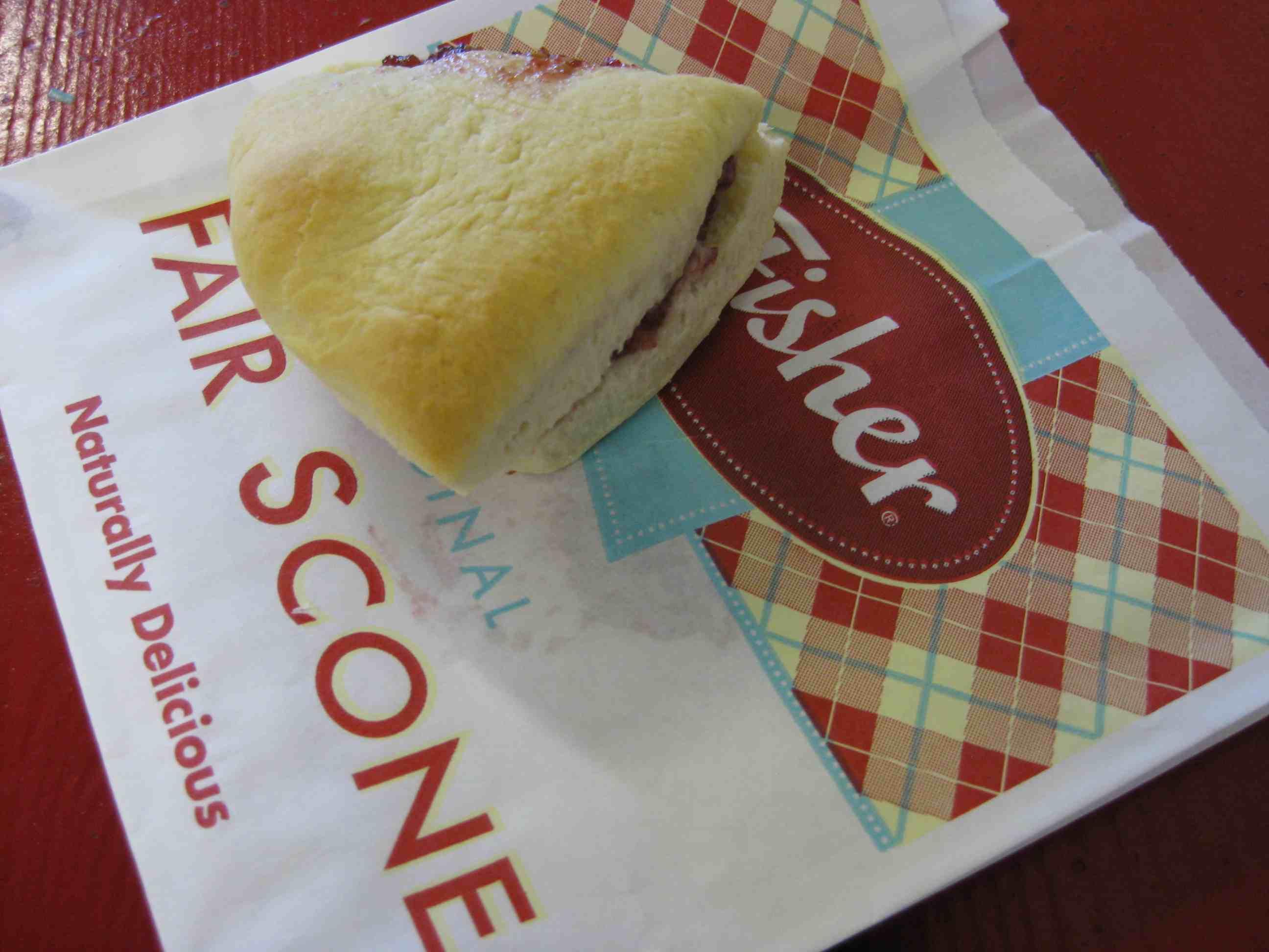 WA State Fair Scone