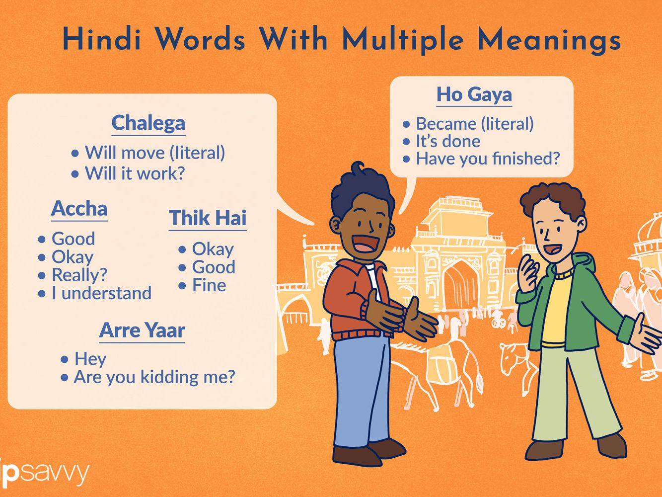 7 Common But Often Misunderstood Hindi Words