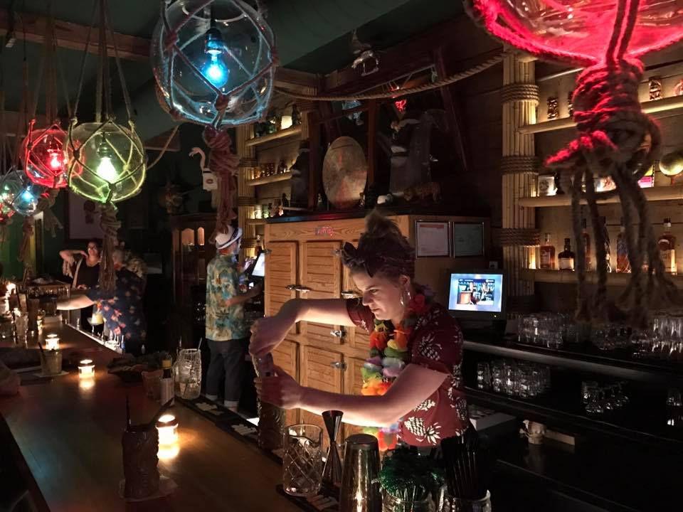 Montreal's best bars include Snowbird Tiki.