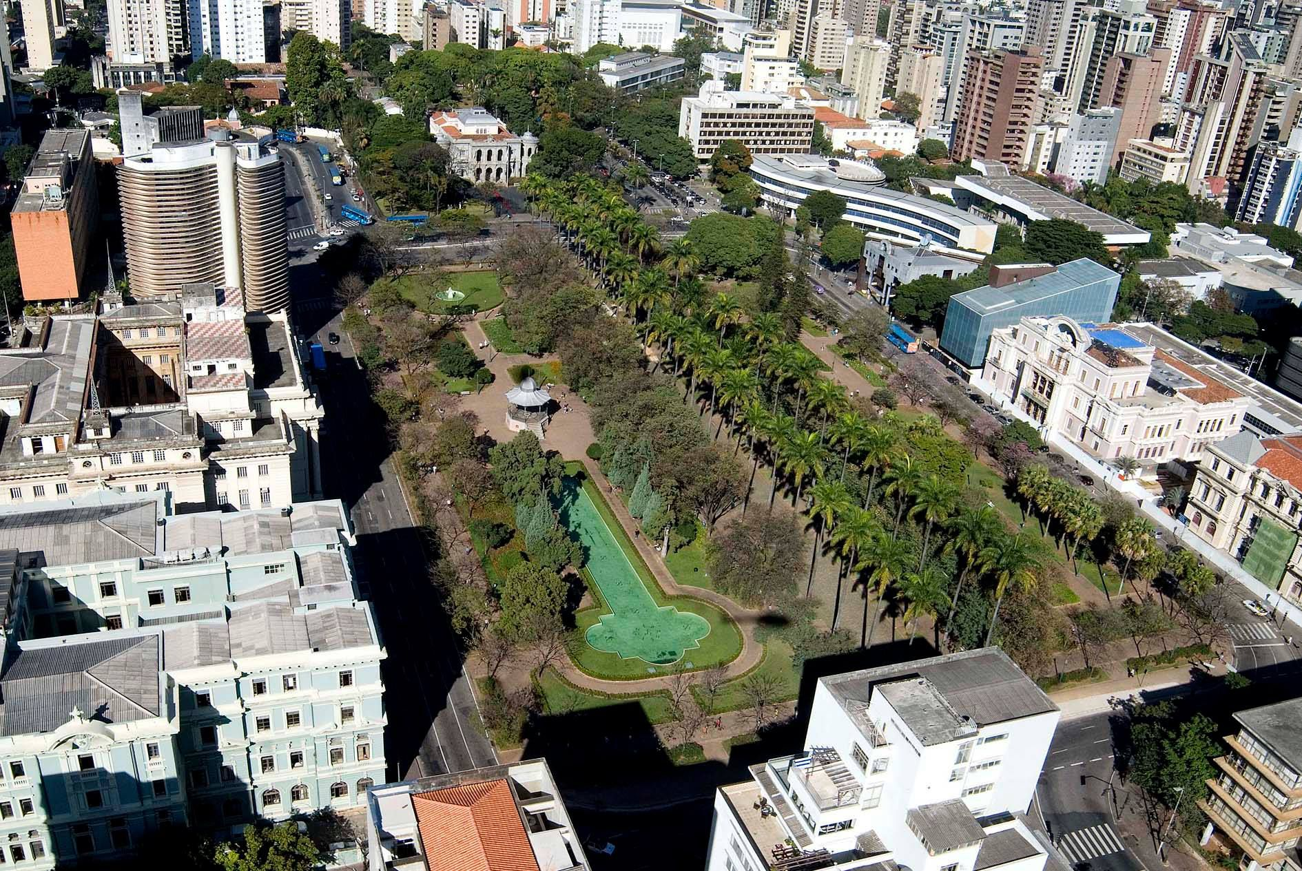 Praça da Liberdade, in Belo Horizonte