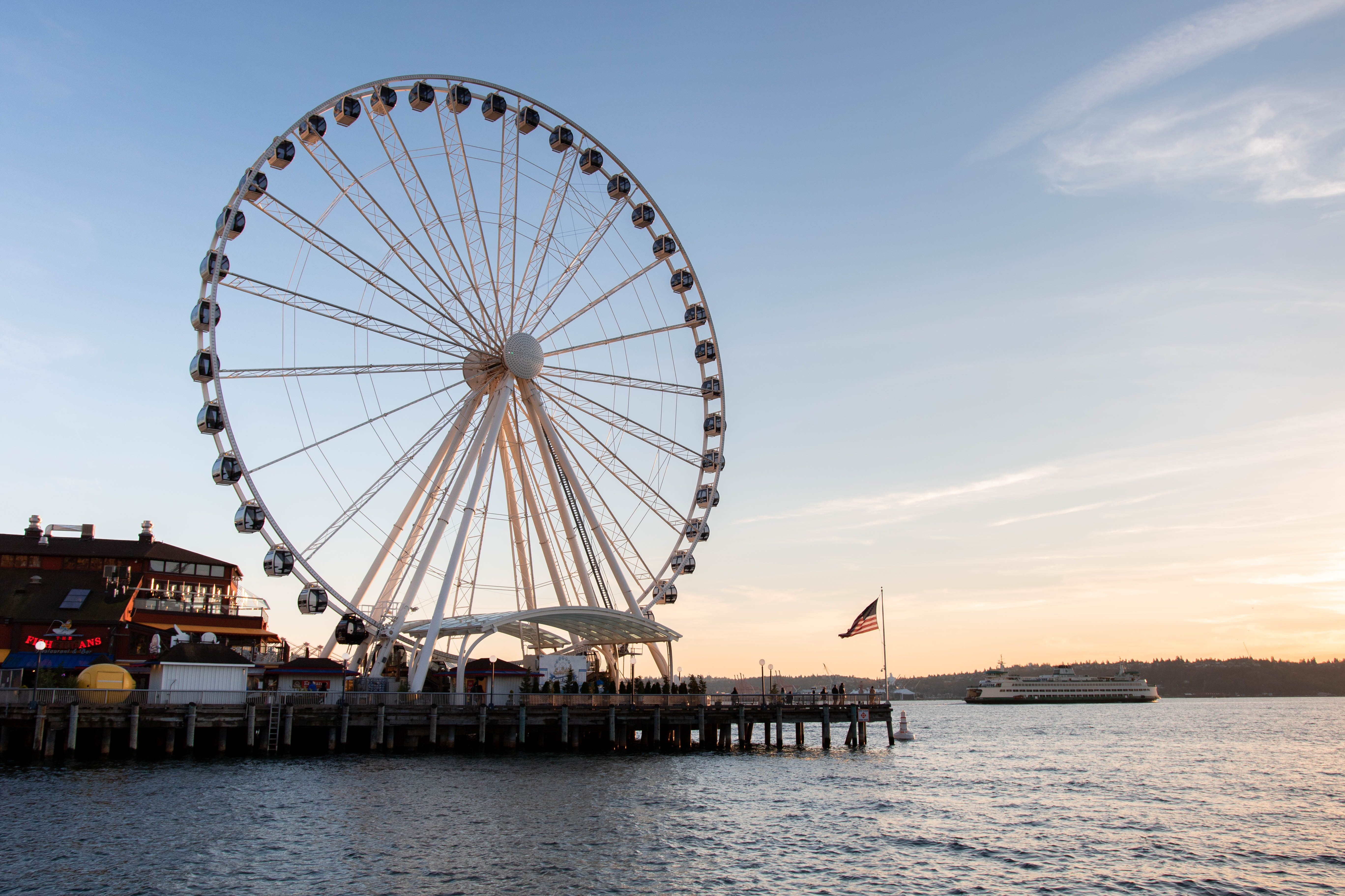 The Seattle Waterfront
