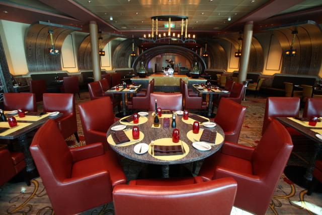 Celebrity Reflection - Tuscan Grille Restaurant