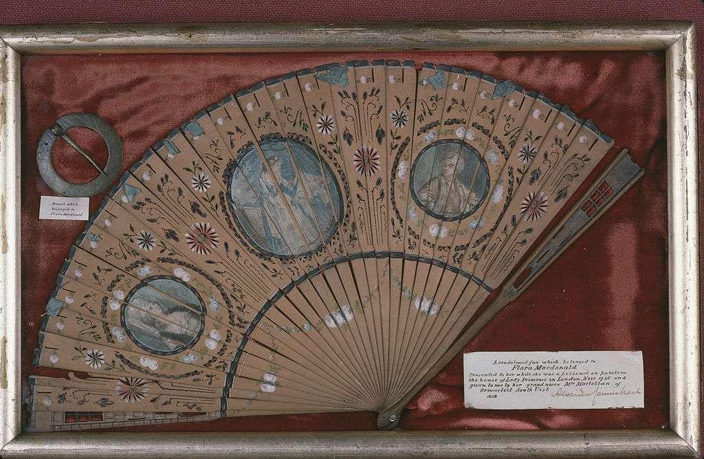 Flora Macdonald's Fan at the West Highlands Museum