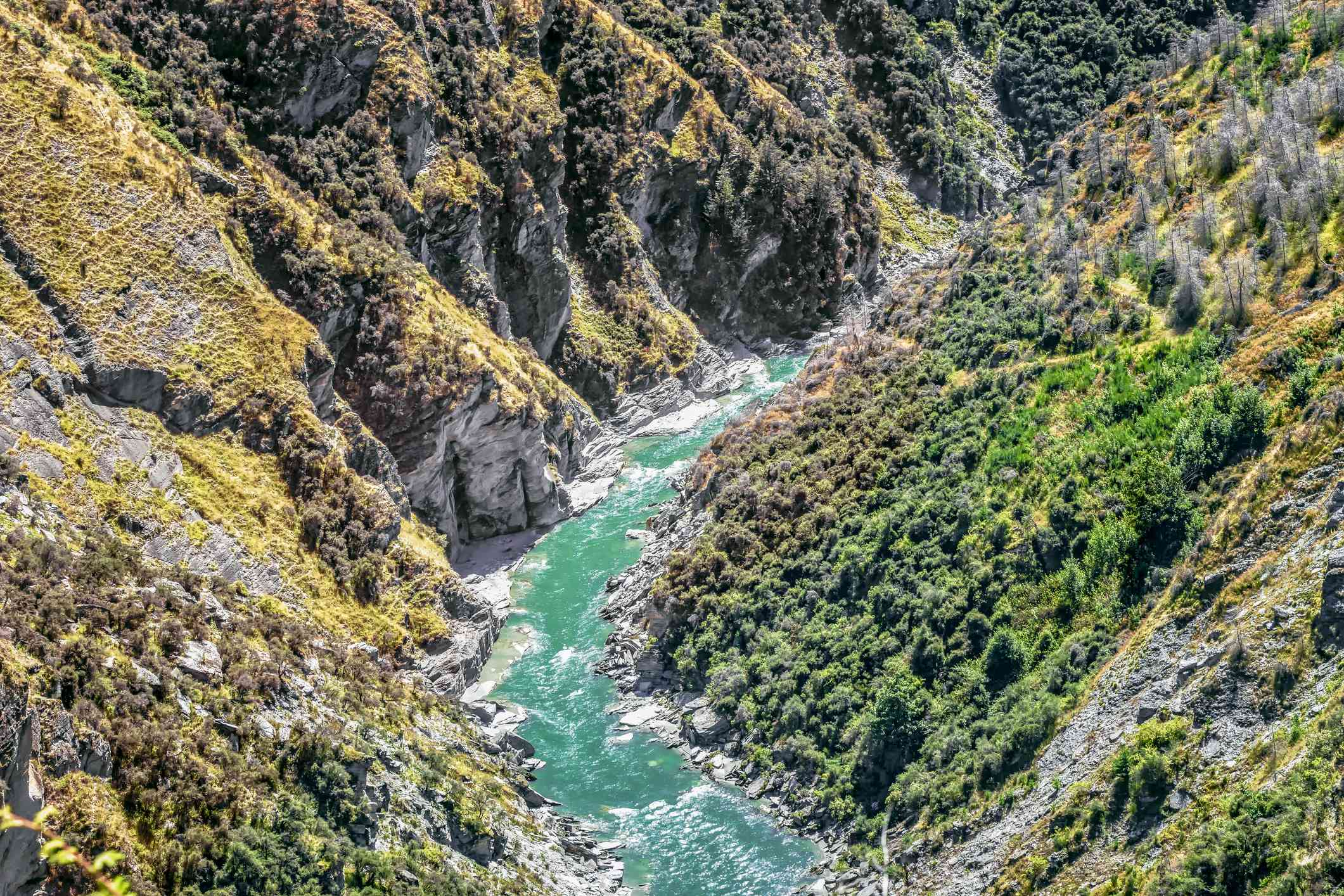 river canyon Queenstown