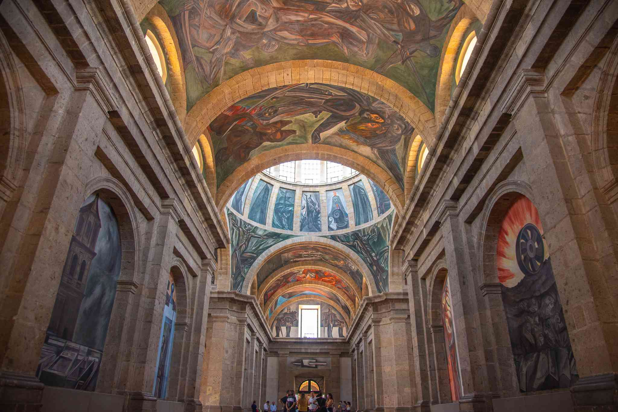 murals by Jose Clemente Orozco