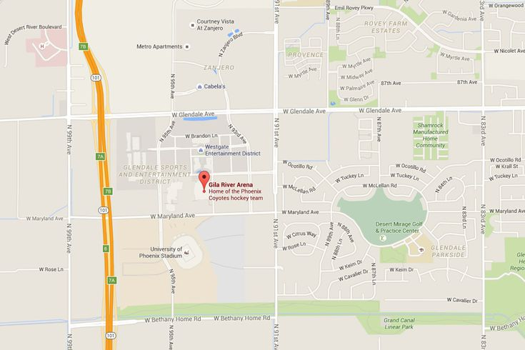 Gila River Arena Address Map Directions Tickets