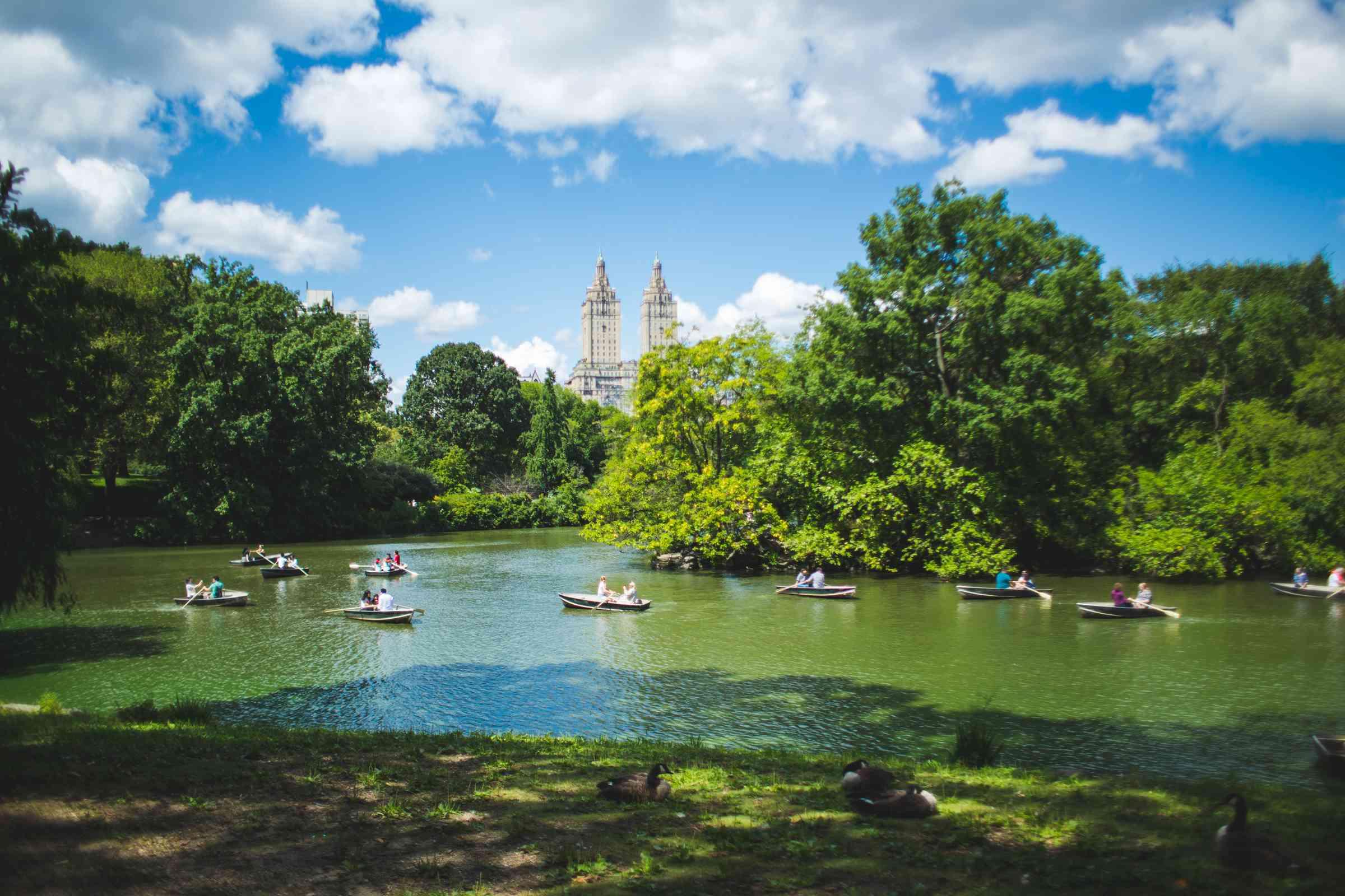 Central Park en Nueva York, NY