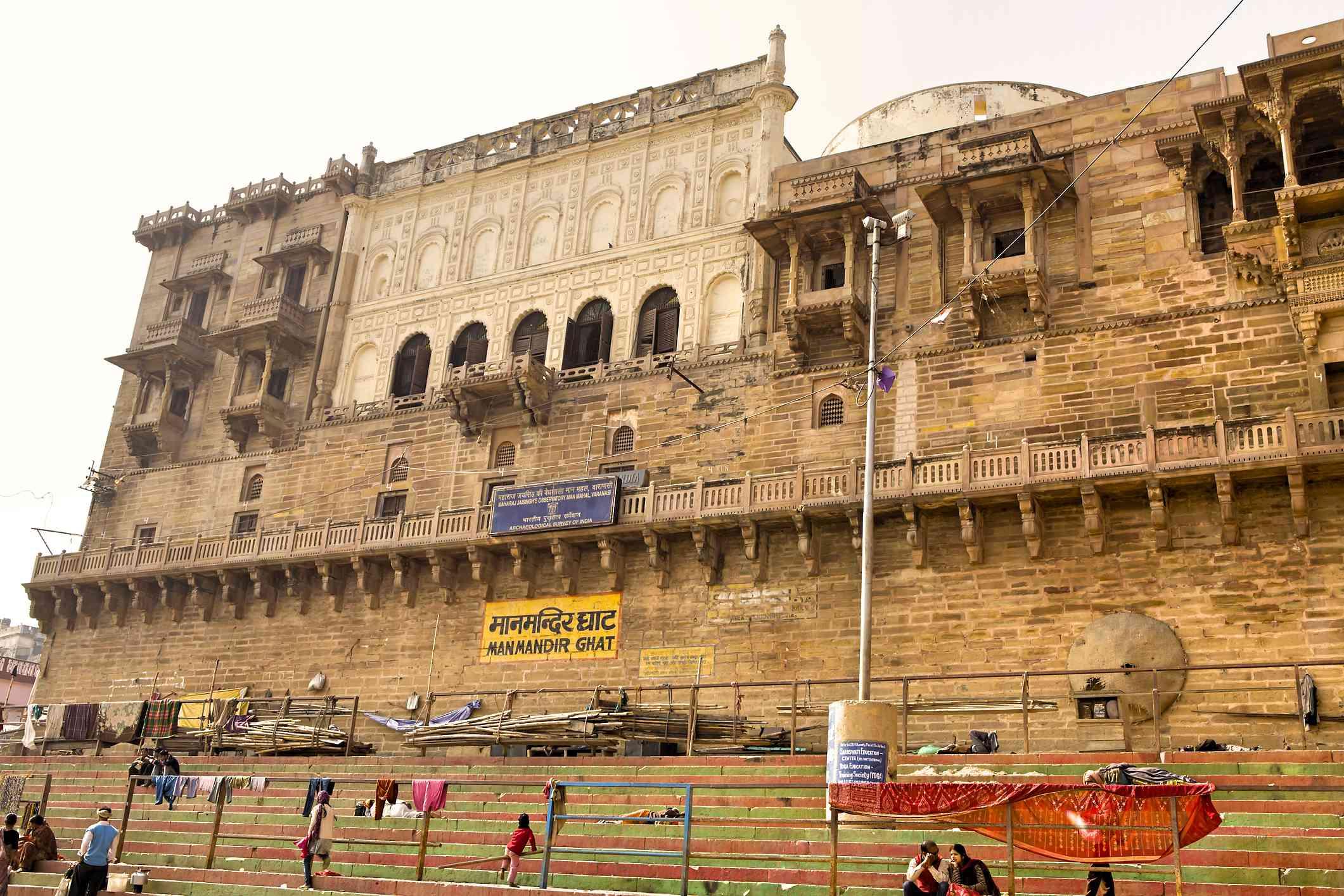 Man Mandir Ghat, Varanasi.