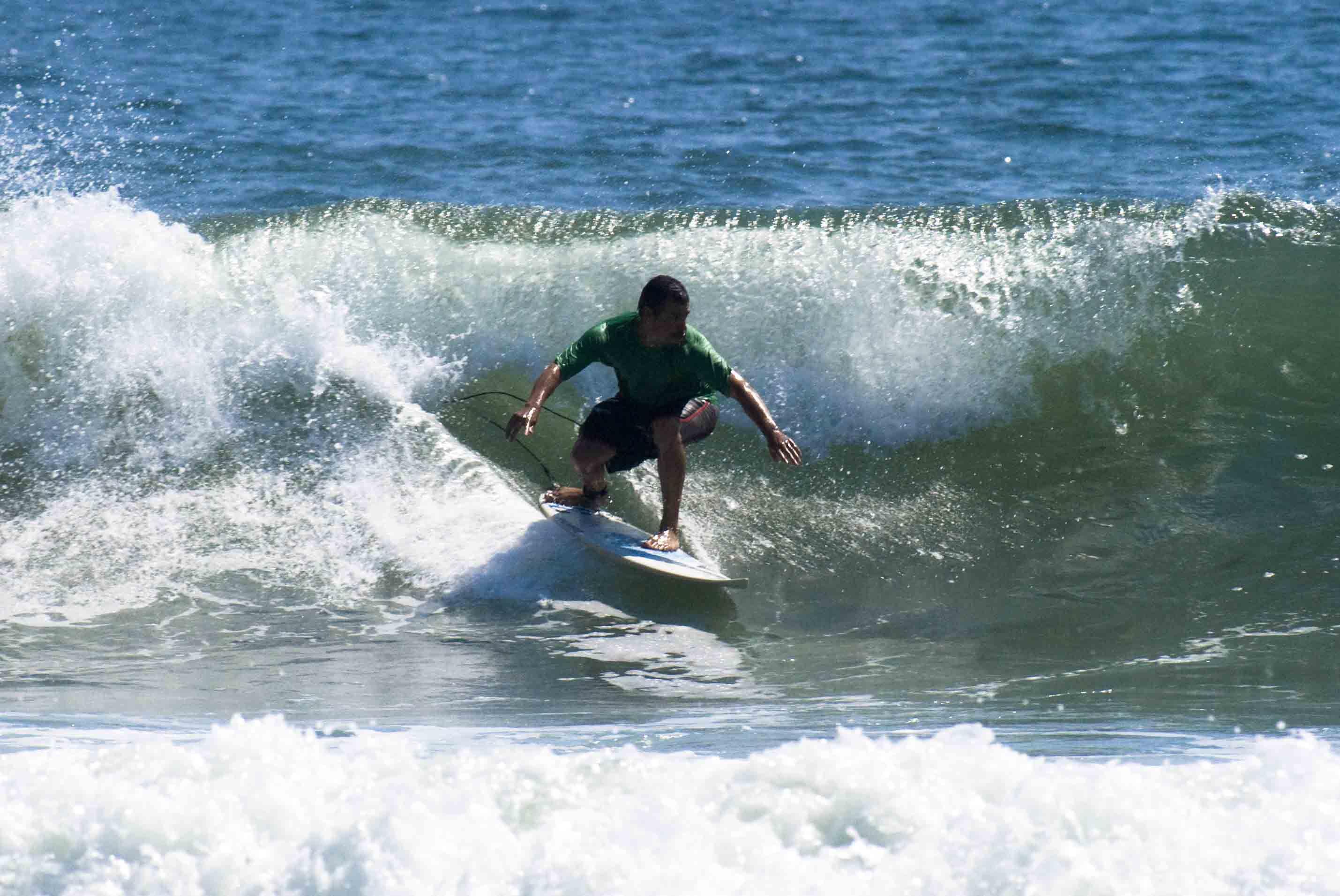 Rockaway Beach surfing