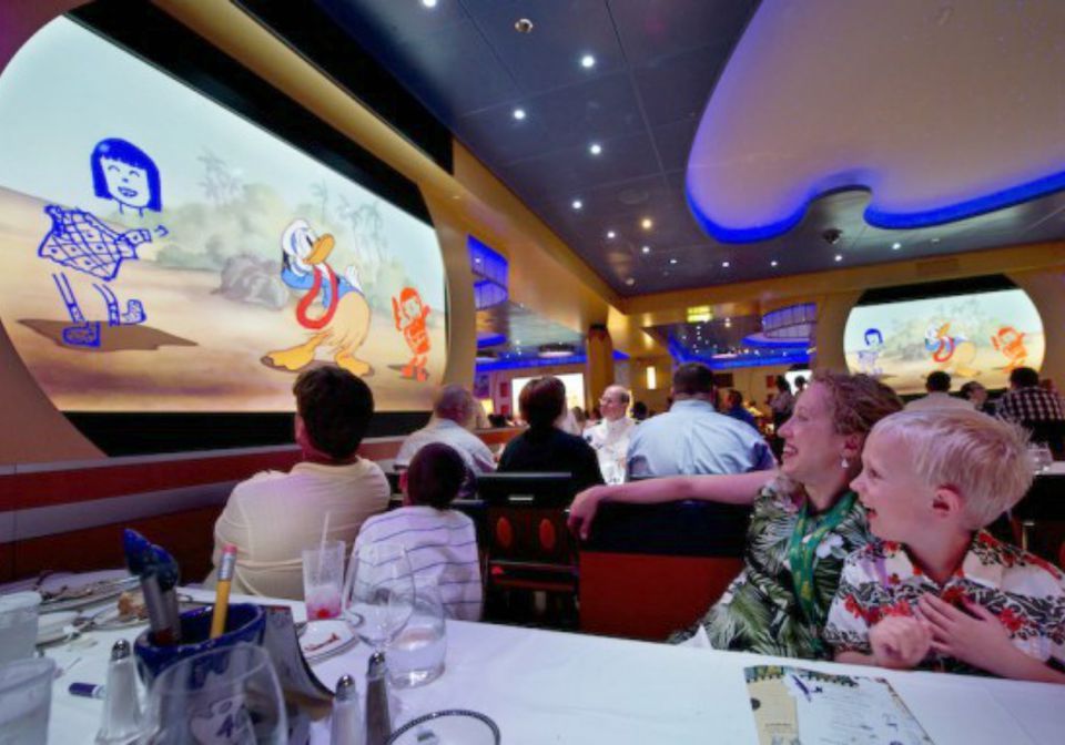 Animators Palate On Disney Cruise Line