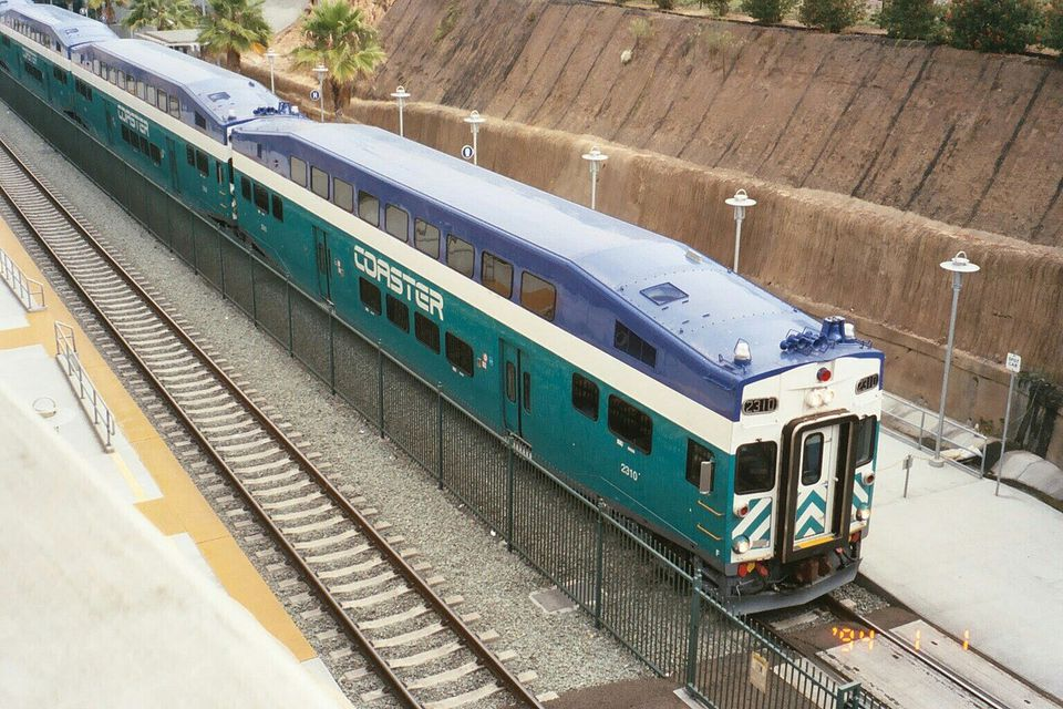 San Diego Coaster train