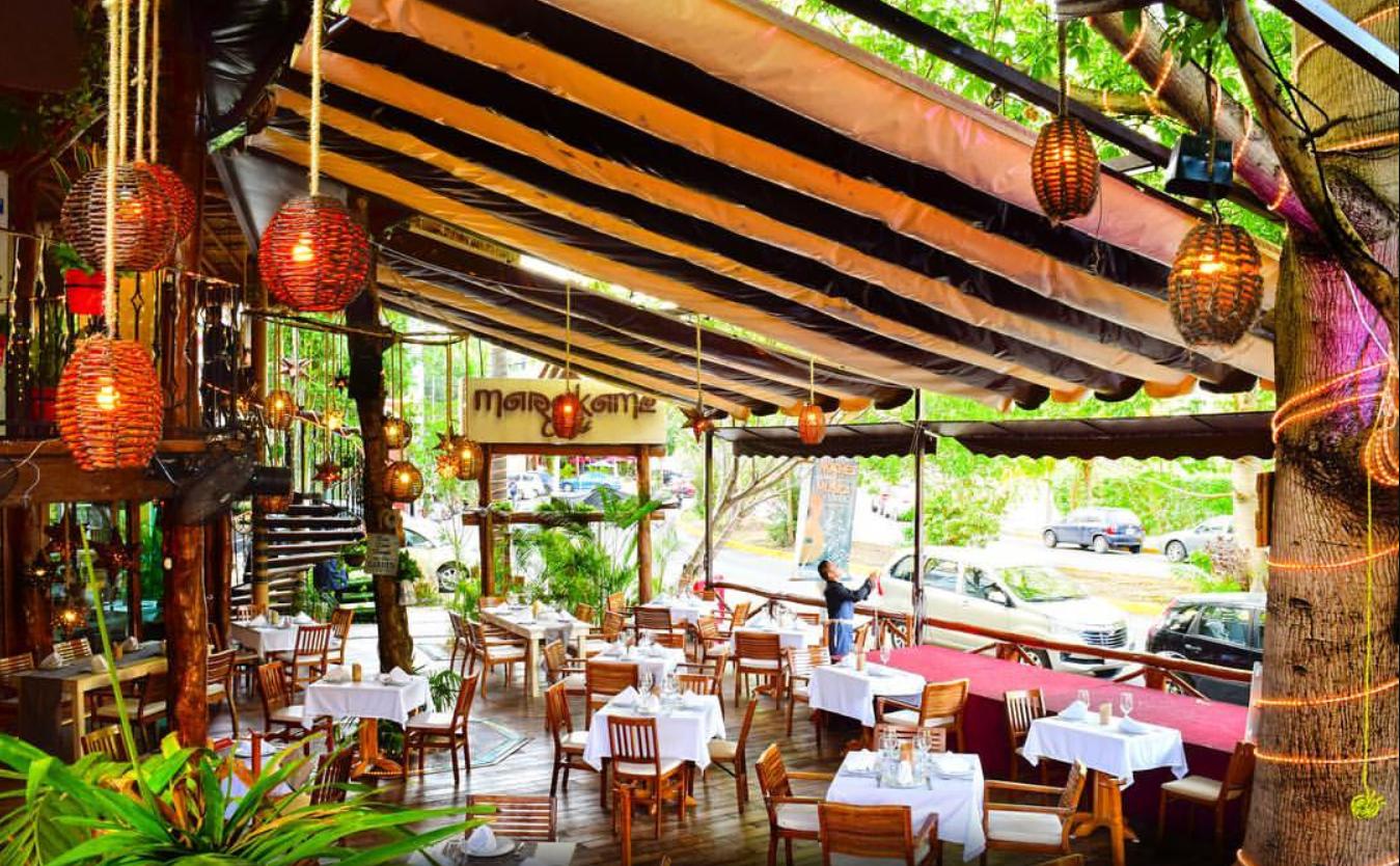 Marakame Cafe in Cancun