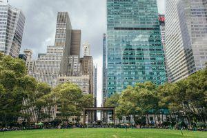 Bryant Park in New York City, NY