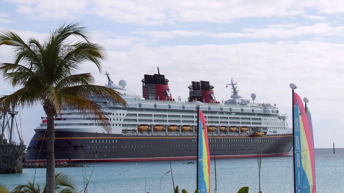 Disney Magic at Castaway Cay in the Bahamas