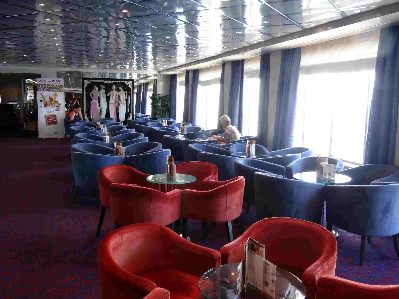 Eros Lounge on the Celestyal Crystal