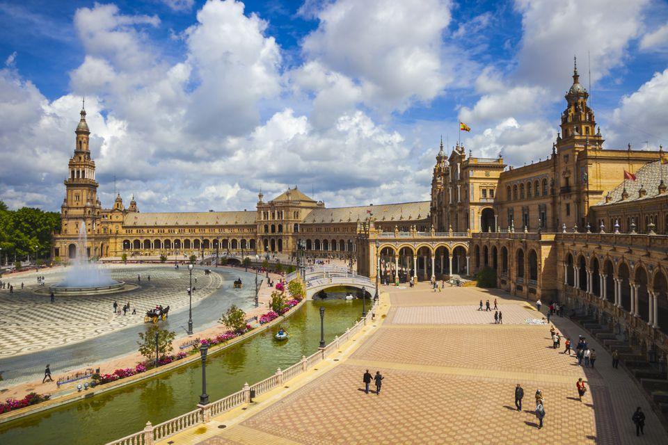 Spain square in Seville.
