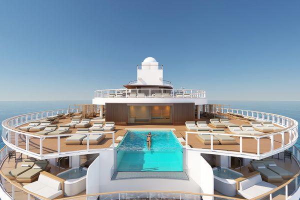 Prima ship from Norwegian Cruise Line