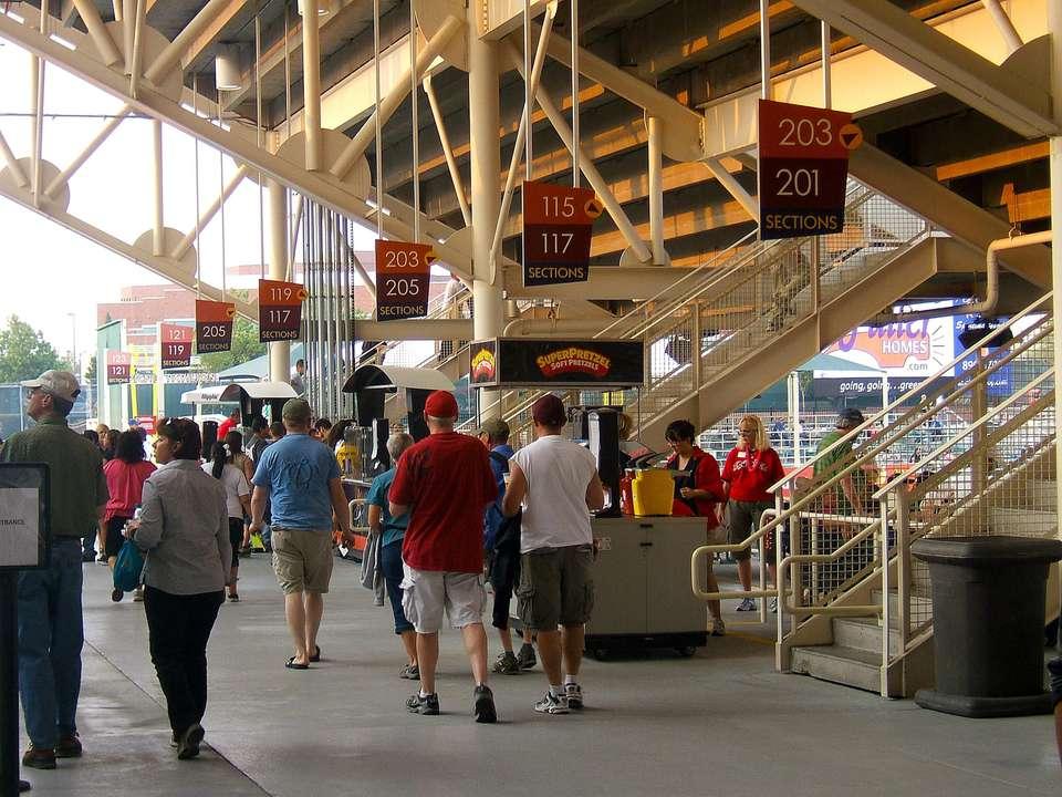 Isotopes Stadium Concourse