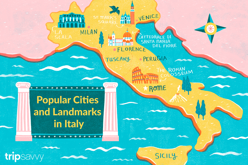 popular cities in Italy