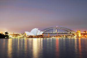 Sydney opera house scenery