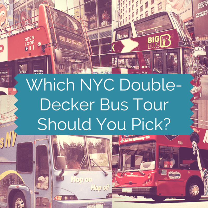 Best Double Decker Bus Tours NYC